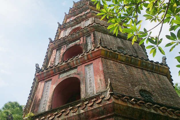 thien mu pagoda Highlight Hue Vietnam Tour
