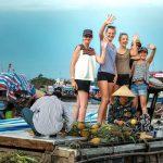 vinh long floating market