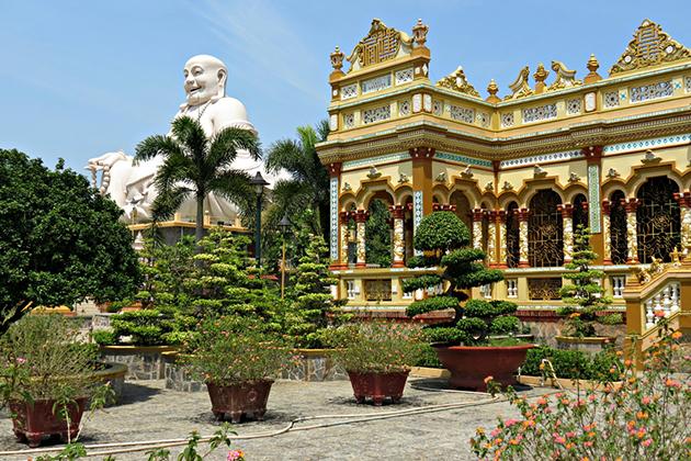 vinh trang pagoda mekong delta tourvinh trang pagoda mekong delta tour