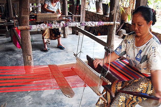 Ban Phanom village vietnam laos tour