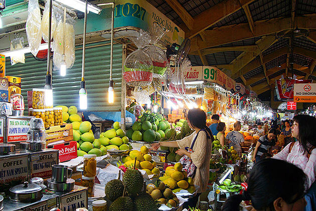 Ben Thanh Night Market Vietnam Tour