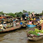 Cai Be Floating Market in Mekong Delta Tour