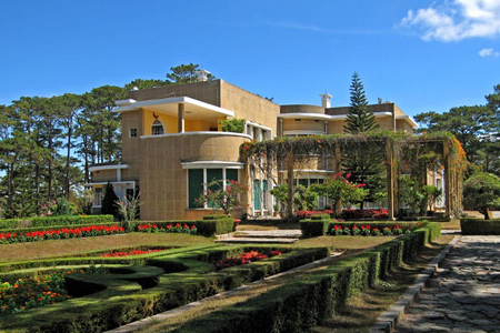 King Bao Dai palace in Dalat
