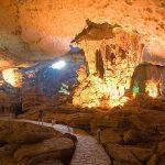 halong bay cave vietnam laos tour