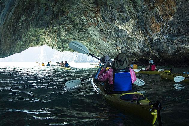 halong bay kayaking vietnam laos tour