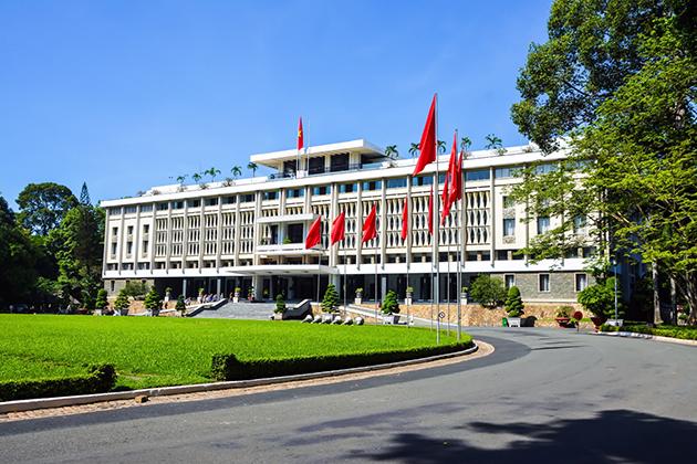 saigon Reunification Palace vietnam tour in 7 days