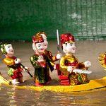 water puppet show in hanoi laos vietnam tour