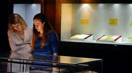 The Exhibition of Nguyen Dynasty Royal Gold Books in Vietnam
