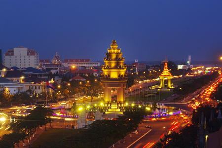 Night in Phnom Penh