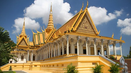 Silver pagoda is one of must-sees in Phnom Penh