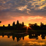 Red Twillight AngkorWat