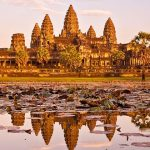 Twilight at Angkor Wat Cambodia Tour