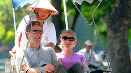 Tourists in Vietnam