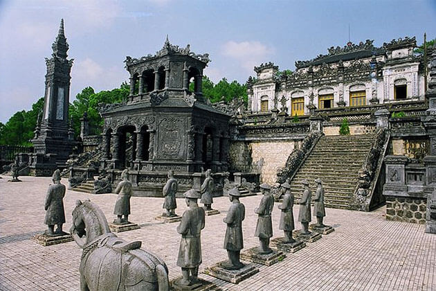 Khai Dinh Tomb in Hue City