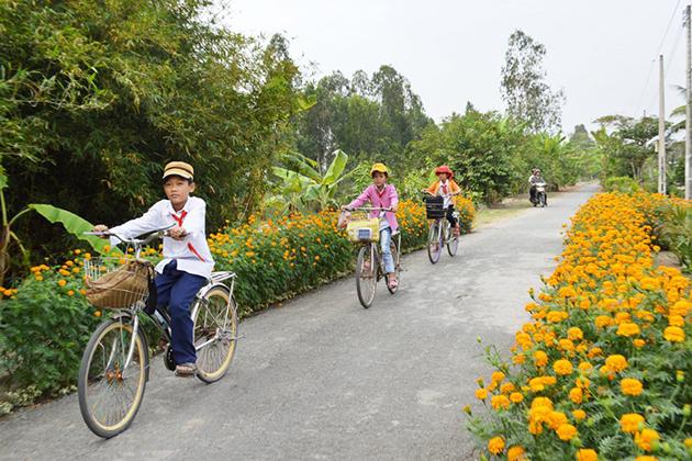 Transportation in Vietnam Countryside