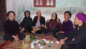 Vietnamese Custom Betel Chewing