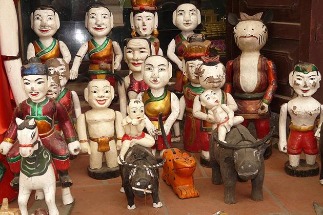 vietnam puppet souvenir