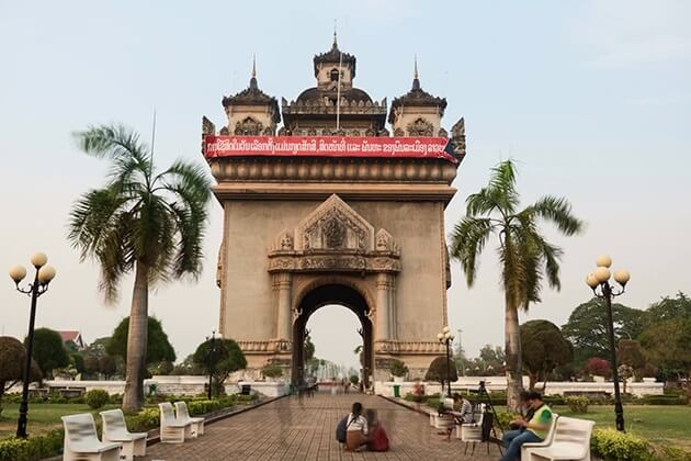 Arch of Triumph in Vietnam Indochina Tour