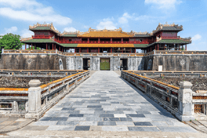 visit Forbidden Purple City in Hue vietnam tour operator
