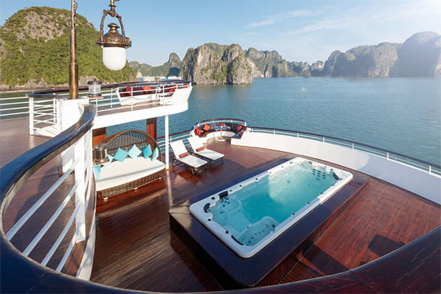 President Cruise in Halong Bay Wow Vietnam Tour