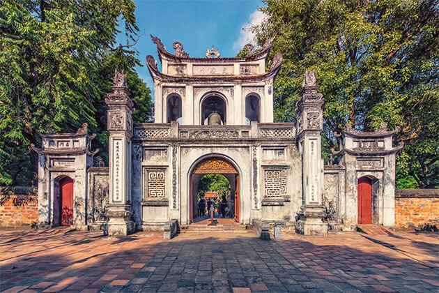 Temple of Literature Vietnam Family Tour