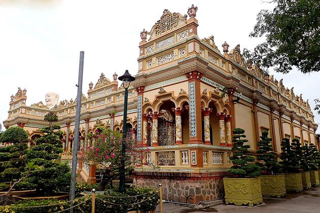 Vinh Trang Pagoda Vietnam Cambodia Laos Tour