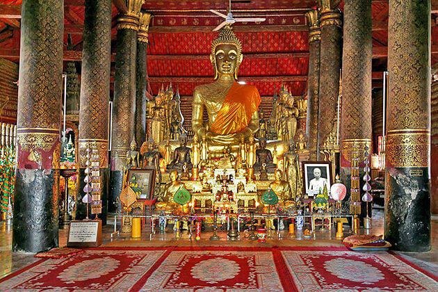 Wat May Luang Prabang Indochina Tour