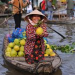 cai be floating market southern vietnam family tour