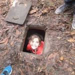 explore cu chi tunnels with your kids