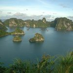 halong bay view from titop island vietnam family tour package