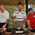 make banh xeo in hoi an family tour of vietnam