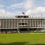 reunification palace in saigon vietnam travel with kids itinerary 2 weeks