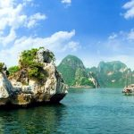 the magic halong bay in Vietnam
