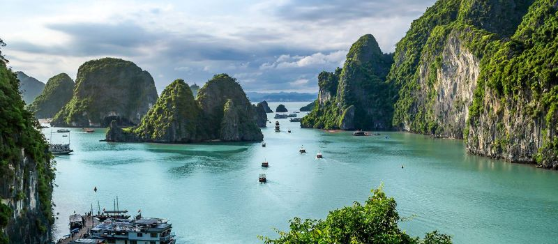 vietnam tour at halong bay 7 days
