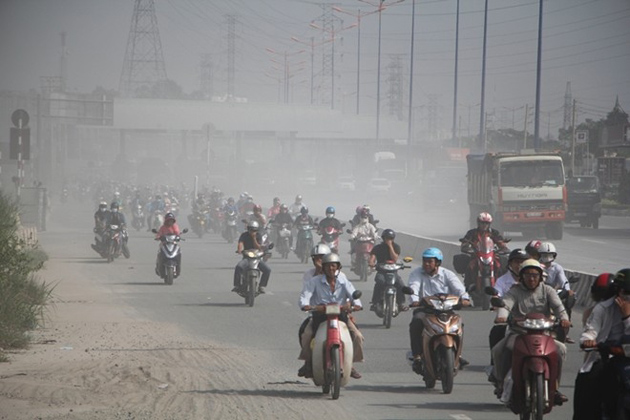 air pollution in Vietnam