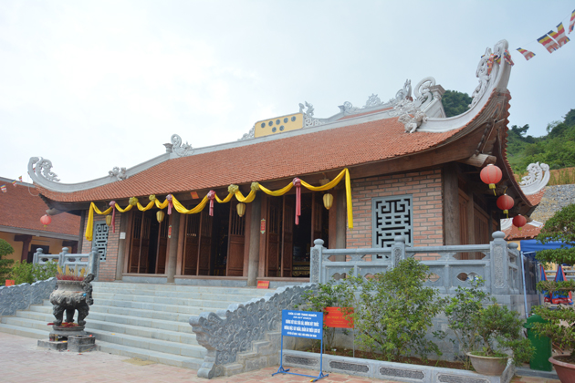 truc lam phat tich pagoda cao bang vietnam