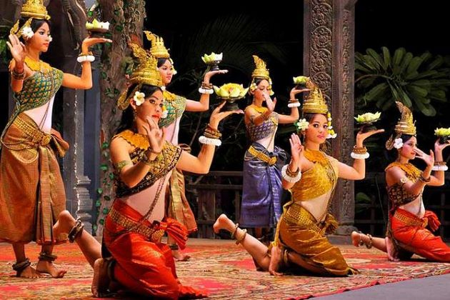aspara dance cambodia and vietnam tours packages