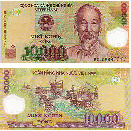 Vietnam Money Currency Converter Rate