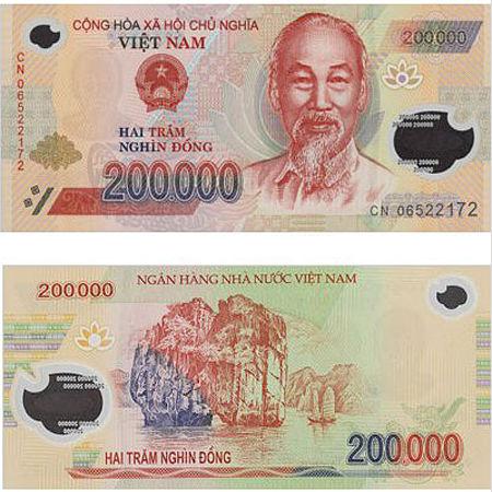 200000 VND vietnam money