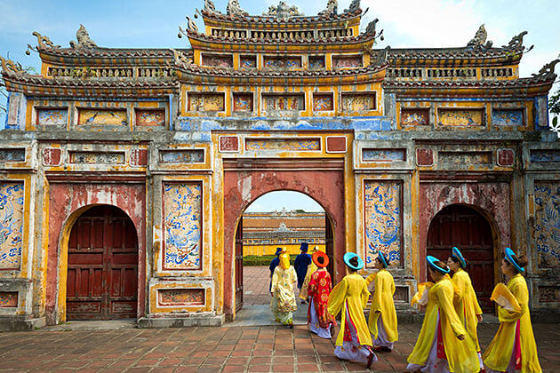 hue imperial city Vietnam tour company