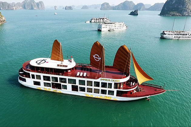 Halong Bay Tour by Emperor Cruise – 2 Days