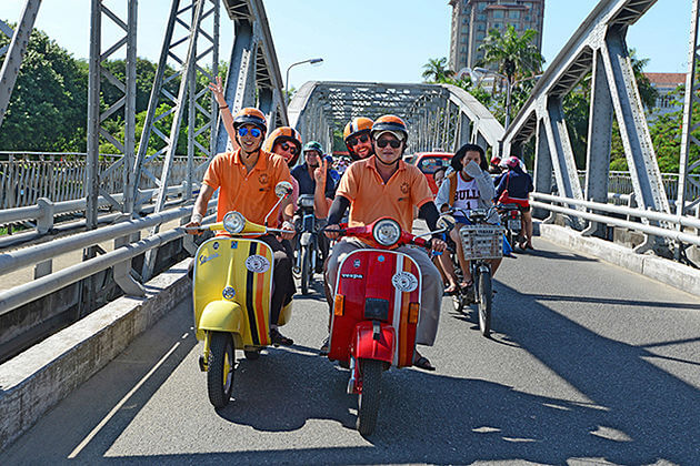Home Visit by Vespa – Hue Tour – 1 Day