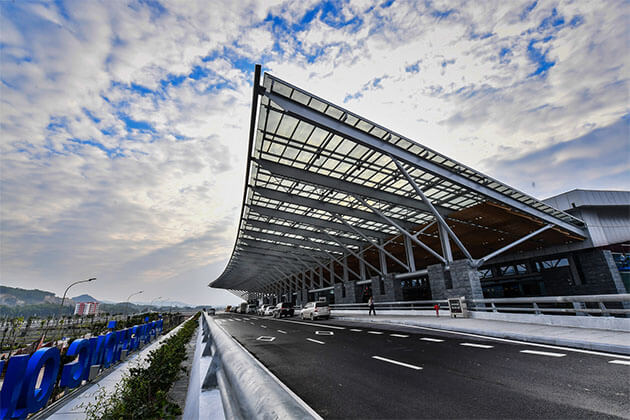 Van Don International Airport is the Gateway to the Majestic Halong Bay