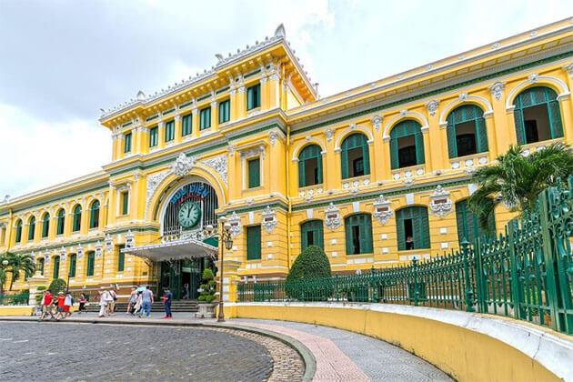 Luxury Ho Chi Minh City Tour Sai Gon Post Office