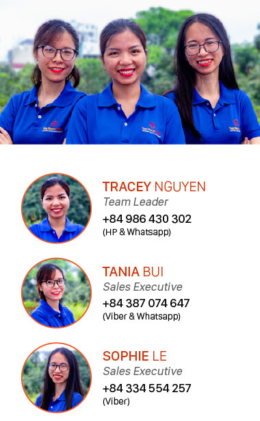 Vietnam Cambodia Tour Operator Customer Support Team