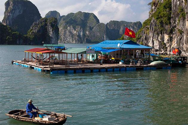 Cap La Island Halong Bay Vietnam Tour