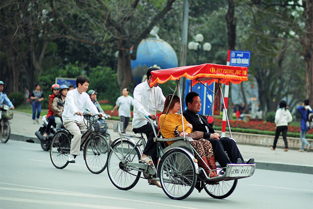 Cyclo Tour in Hanoi