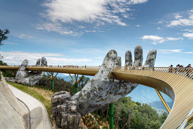 Golden Bridge in Danang Vietnam