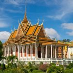 Royal Palace with Silver Pagoda in Cambodia