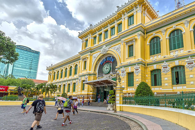 Saigon Post Office Tour